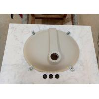 "China Bathroom Bianco Carrara marble vanity tops 22"" x 31"" with Basin Attached wholesale"
