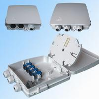 China FTTH terminal box wall-mounting indoor / outdoor 8 cores with PLC splitter / pigtail and adapters wholesale