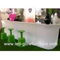 China Modern Coffee House and night clubs LED glow furniture cocktail table RGB LEDs wholesale