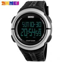 China Skmei Men Multi-function 5 ATM Outdoor Sport Watches Alarm Chrono Count Down PU Band Watches 1286 wholesale