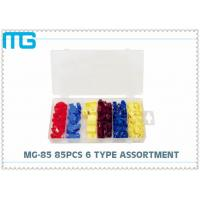 China 6 Types Terminal Assortment Kit MG - 85 85 Pcs For Machinery / Spinning CE Approval wholesale