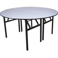 China DL-605 Round Folding Banquet Table/Hotel Furniture Set wholesale