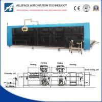 China PP / PE / PS Automatic Vacuum Forming Machine Make Plastic Packaging wholesale