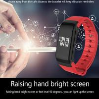 F1 Smatband Waterproof Blutooth Smart Bracelet  Heart Rate Monitor Watch Fitness Tracker