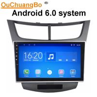 Buy cheap Ouchuangbo car radio multi media stereo android 6.0 for Chevrolet Sail with 3g wifi gps navigation dual zone 4*45 Watts from wholesalers
