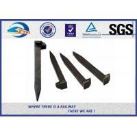 China Railroad Track Spikes / Dog Spike For Timber Sleeper GOST5812 Standard wholesale