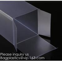 China Window box packaging box PVC box for gift packaging  Alternatives to acrylic box clear box Printed PVC box  Clear window wholesale