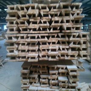 China Anti Aging Wood Window Molding , Customized Length Wood Window Casing wholesale