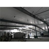 China Construction design large span color coated Philippines light steel structure industrial workshop wholesale