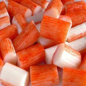 China frozen food/seafood surimi imitation crab stick wholesale