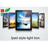 China Ipad Style LED Magnetic Light Box Single Sided 2800 LUX Brightness For Wall Graphic Display wholesale