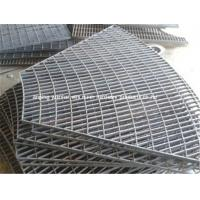 China Hot Dipped Mild Steel Grating Panels Easy Installation Attractive Appearance wholesale