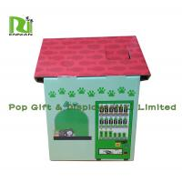 China Customization Cardboard Cat Scratcher House Display For Pet Retailers , Eco Friendly on sale