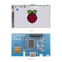 China 800x480 LCD Control Board 4'' HDMI Input Raspberry Pi Monitor With Touch Control on sale