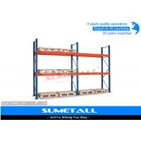 China Heavy Duty Long Span Shelving Industrial Pallet Racks For Home / Garages wholesale