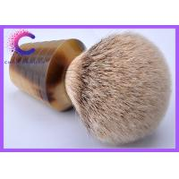 China Hand made  faux horn Silvertip Badger Shaving Brush , luxury shave brushes wholesale