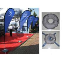 China Teardrop Outdoor Marketing Flags 2.8 - 5.5m Chrome - Plated Iron Spike wholesale