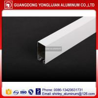Powder coated aluminum window frame extrusion in China