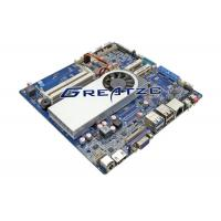 China HDMI 4 K Mini ITX Motherboard With Processor I3 6100U , 2 COM Industrial Board With LVDS wholesale