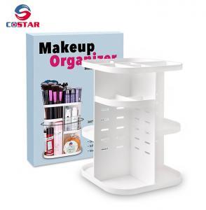 China China trusted supplier new rotating makeup brush organizer makeup organizer wholesale