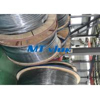 China 1 / 2 Inch Sch10s Stainless Steel Coiled Tubing Bright Annealed / Pickled Surface wholesale
