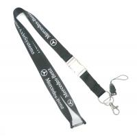 China Customizable Nylon Cell Phone Lanyard With Silk-Screen Print For Activity wholesale