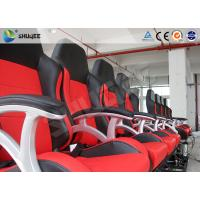 China Interactive Motion Theater Chair 4d Cinema Seating With High-Ene Pu wholesale