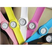 China promotion chirstmas gift silicone watch wholesale