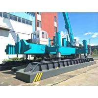 China Concrete Pile Jack In Machine For Piling , Small Piling Machine ZYC460 wholesale