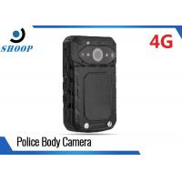 3G / 4G Bluetooth Body Worn Camera Law Enforcement With Live Streaming Video