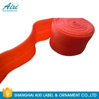 China Decorative Coloured Fold Over 10 - 30mm Elastic Binding Tape For Underwear wholesale