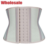 China Latex Tummy Trimmer XXXL 9 Boned Latex Waist Trainer For Working Out wholesale