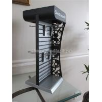 China Metal Slatwall Display Stands Countertop Headphone Display Stand With Metal Hooks wholesale