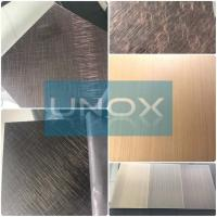 China ASTM A240 304 Hairline Bronze Stainless Steel Plate-Copper Plating Stainless Steel Decor Sheets wholesale