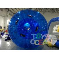 China Diameter 3m Blue Inflatable Bumper Auqa Zorb Walking Ball , Inflatable Zorb Ball wholesale