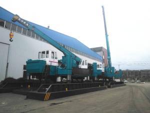 China CE 1.6m 1.9m Piling Stroke Hydraulic Piling Machine wholesale