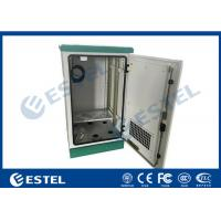 China Fan Type Outdoor Telecom Cabinet Waterproof Anti - Corrosion With Galvanized Steel Material wholesale