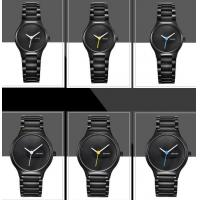 Quality BENYAR Cool Black Fashion 316L Steel Couple Quartz Wrist Watches Lovers Watch BY for sale