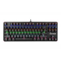 China Pc Gaming Portable Mechanical Keyboard 87 Keys Blue Switch With Backlit wholesale