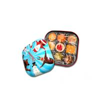 China Colorful Candy Tin Containers With Small Dimension And Xmas Style , 0.23mm Thickness wholesale