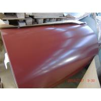 China ASTM CS-FS-SS Color Coated PPGI Steel Coil , G550 Prepainted Galvanized Steel Coil wholesale