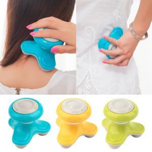 China Portable Heated Neck Massager / Mini Electric Massager Lightweight Ergonomic Shape wholesale