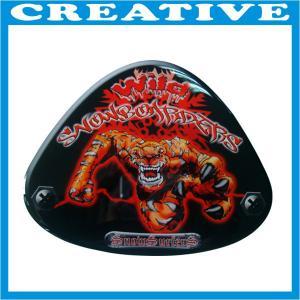 China 3D epoxy logo sticker wholesale