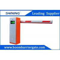 China Orange Color AutomaticParking Lot Boom Barrier Gate System With LEDPanel wholesale
