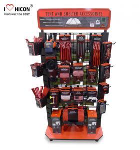 China Custom Sturdy Floor Metal Advertising Hand Power Tool Display Rack wholesale