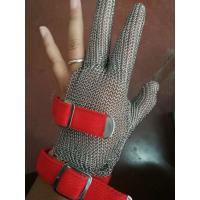 China Anti-spear Knife Stainless Steel Gloves With Five Fingers For Slaughterhouse wholesale