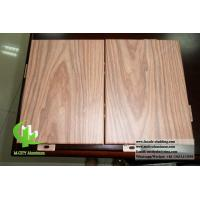 China Customized Aluminium Panels Single Panel For Facade Cladding Fence Roofing Wooden Color wholesale