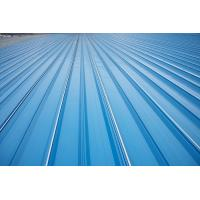 China Erosion Proof Corrugated Galvanized Steel Roofing Sheets Of Inter - Lock Type wholesale