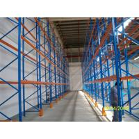 China Cold Rolled Steel Racking Pallet Rack Shelving , Industrail Storage Solutions wholesale