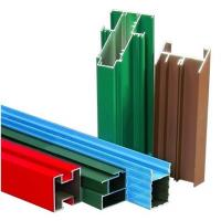 China Non-insulated T4 Exterior Aluminum Sliding Window Frame Extrusion Profiles With Milling , Drilling wholesale